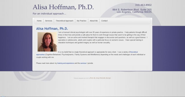 Alisa Hoffman Therapy