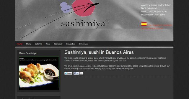 Sushi in Buenos Aires
